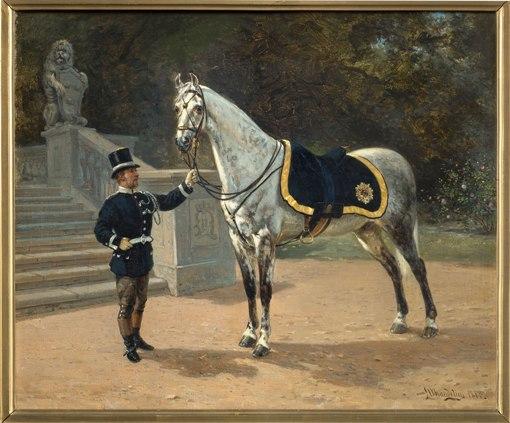 Oscar II: vita paradhäst, 1880