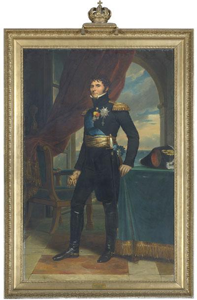 Porträtt av Karl XIV Johan målat av François Gérard 1811