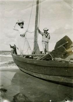 Ellen seglar. Foto: Hallwylska museet