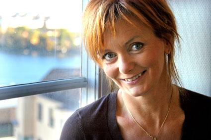 Gunilla Kindstrand är programledare för Din plats i historien