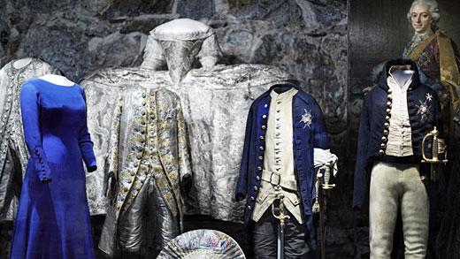 Dräkter i Livrustkammaren. Foto: Erik Lernestål