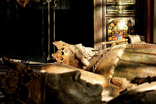 Magnus Ladulås gravtumba i Riddarholmskyrkan. Fotograf: Ray Wahlsten
