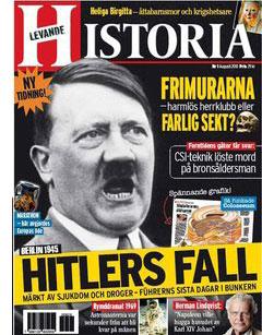 Första numret av tidningen Levande historia