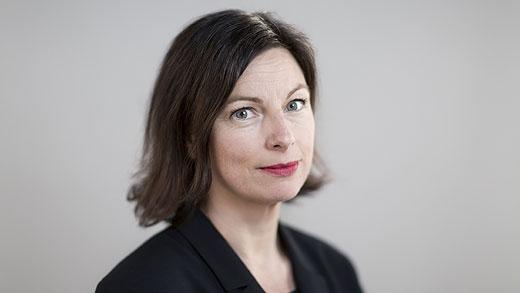 Maria Jansén, chef för Historiska museet. Foto: Robert Blombäck