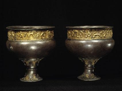 Silverbägare från Himlingöje, Danmark, 200-talet e.Kr