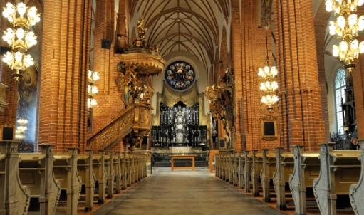 Storkyrkan i Stockholm, rengjord och renoverad 2010
