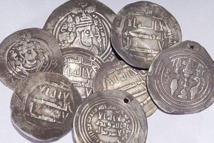 Unik silverskatt från vikingatiden funnen vid utgrävning