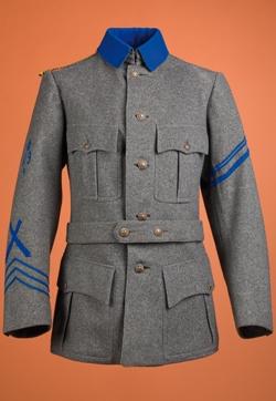 Vapenrock m/1903 för manskap vid positionsartillerregementet A9