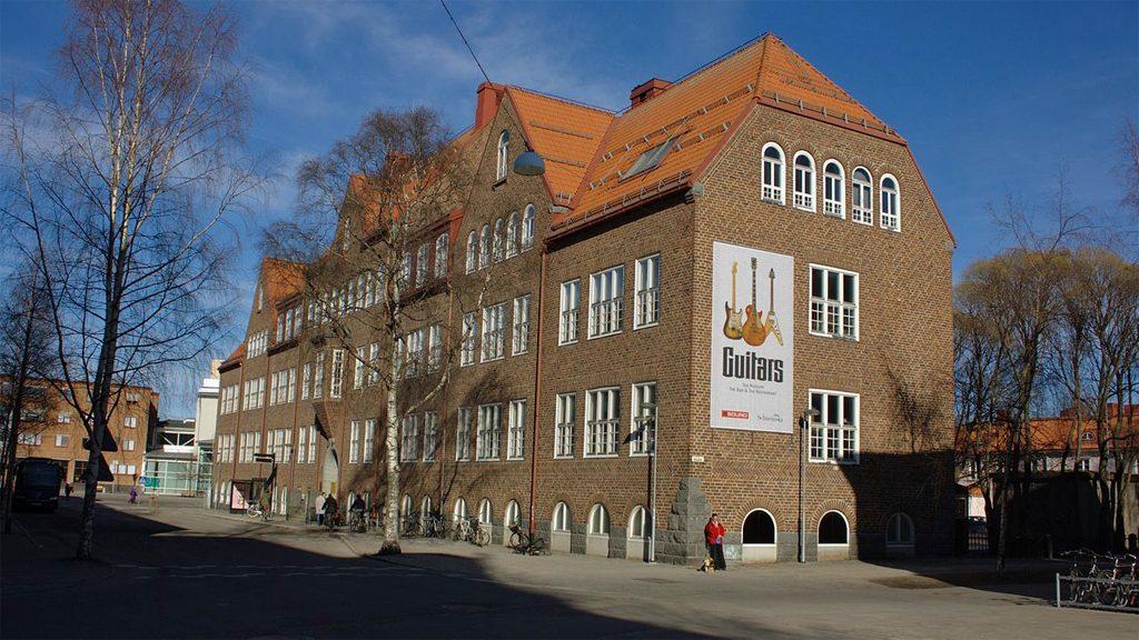 Gitarrmuseet i Umeå. Foto: Mikael Lindmark (Wikimedia Commons CC BY-SA 3.0)