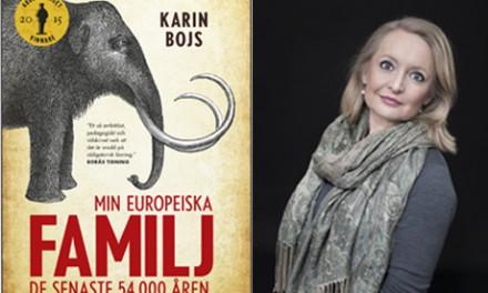 Karin Bojs skrev Årets bok om svenska historia 2015
