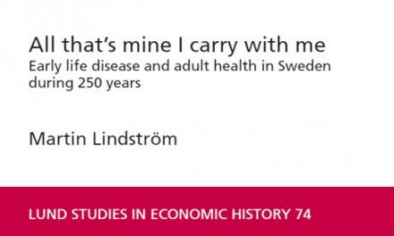 Hälsa och mortalitet i Sverige under 250 år