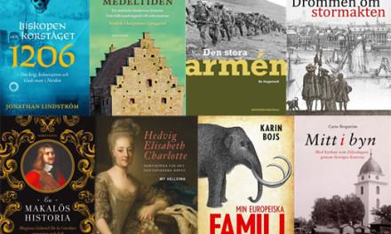 Rösta fram Årets bok om svensk historia