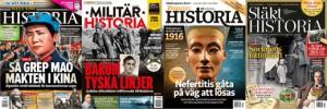 Allt om Historia, Populär Historia, Militär Historia och Släkthistoria