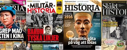 Bonnier köper fyra historiska tidskrifter