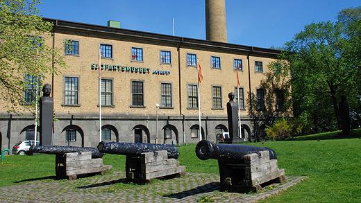 Gamla Varvsparken vid Sjöfartsmuseet i Göteborg. Foto: Historiker (CC BY-SA 3.0)