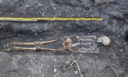 Fynd på Frösön var skelett från tidig medeltid
