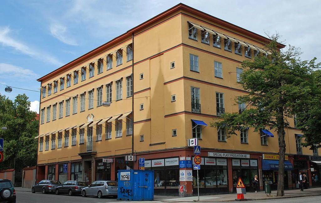 Judiska museet på Hälsingegatan 2 i Stockholm. Foto: I99pema (CC BY 3.0)