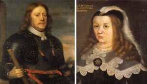 Per Brahe d.y. och Kristina Katarina Stenbock. Foto: Samuel Uhrdin