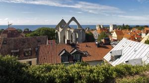 Panorama över Visby. Foto: Alexandru Baboş Albabos (CC BY 3.0)