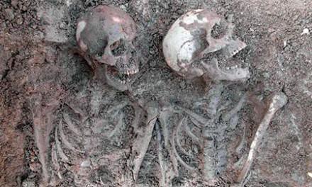 Krigsoffer funna efter 400 år