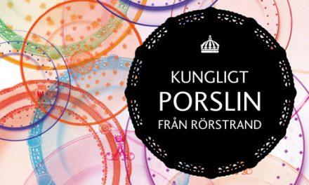 Kungligt porslin från Rörstrand