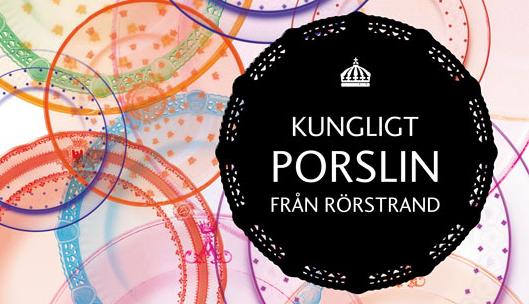 Kungligt porslin från Rörstrand - affisch