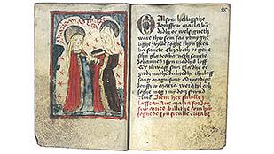 Jungfru Maria som ord och materia
