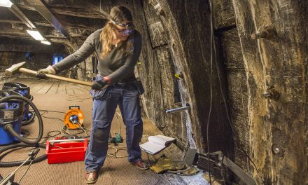 Vasa har blivit fem ton lättare
