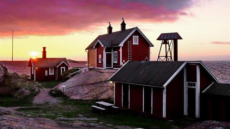 Femörefortets fyrvaktarbostad. Foto: Lars Dahlbom