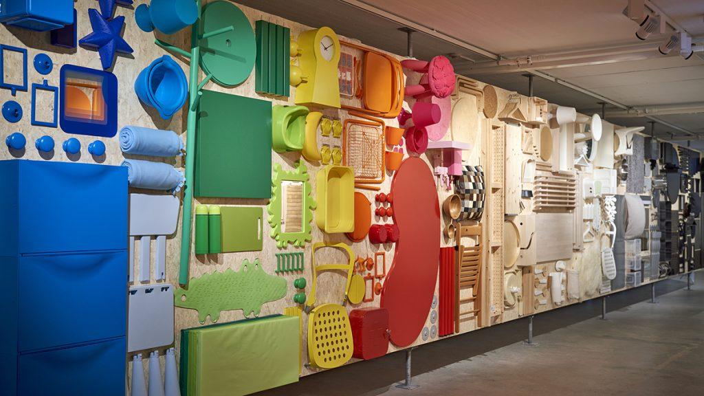 Huvudutställningen. Foto: Ikea Museum