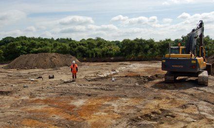 Utgrävning av välbeställd 1500-talsgård