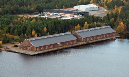 K-märkta krigsminnen i Luleå brann upp