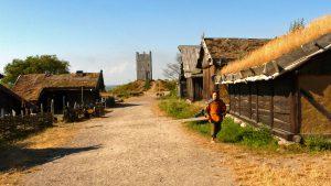 Vikingar anmäler kvinnan som såldes som slav