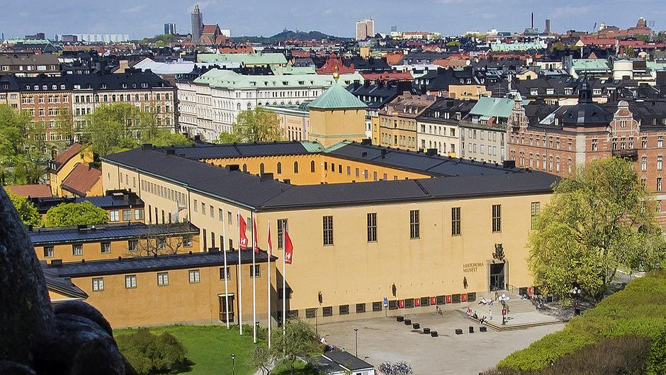 Historiska museet. Foto: Historiska museet
