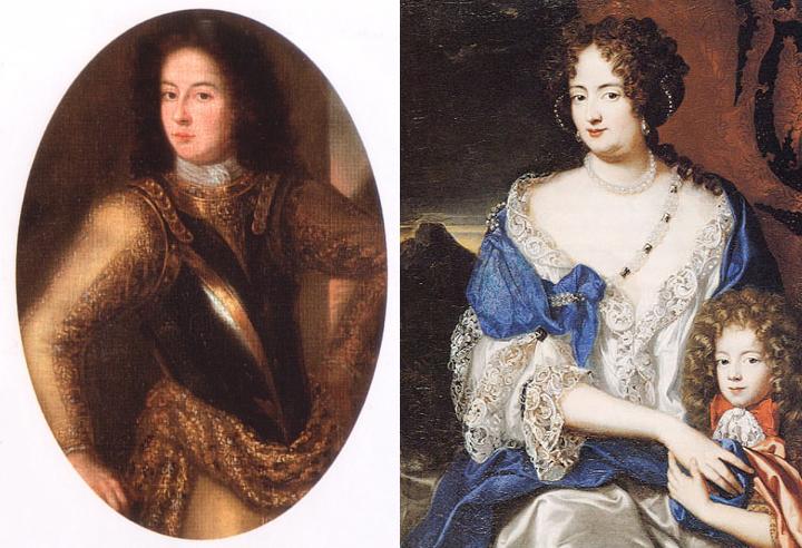 Philip Christoph von Königberg och Sofia Dorotea av Celle.