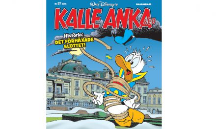 Kalle Anka besöker Drottningholms slott