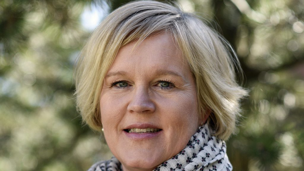 Nya Riksarkivarien Karin Åström Iko. Foto: Jenny Odell