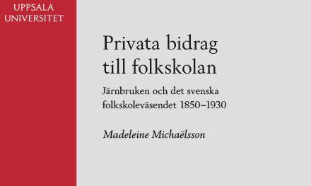 Privata bidrag till folkskolan 1850–1930