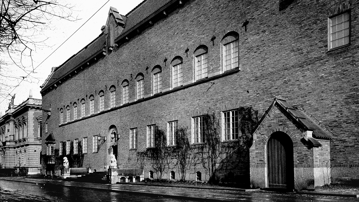 Röhsska museet 1923. Foto: Röhsska museet