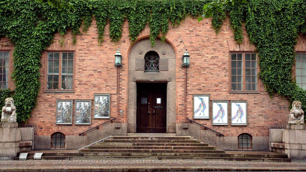 Ingången till Röhsska museet. Foto: Röhsska museet