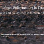 Ingen förändring i svensk flykting- och invandringspolitik