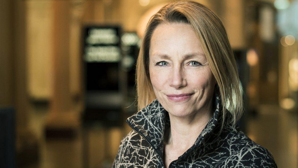 Ann Folin, chef för Statens museer för världskultur. Foto: Anders Larsson