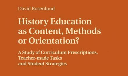 Metodkunskap eftersatt i historieundervisningen