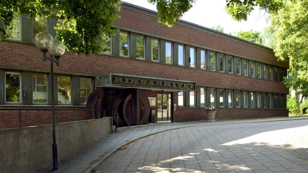Riksarkivet i Marieberg. Foto: Riksarkivet