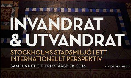 Stockholms stadsmiljö i ett internationellt perspektiv