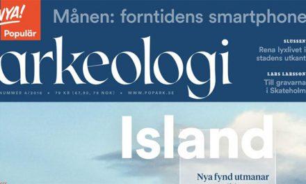 """Nypremiär för tidskriften """"Populär Arkeologi"""""""