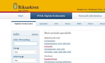 Riksarkivets digitala arkiv kan bli gratis