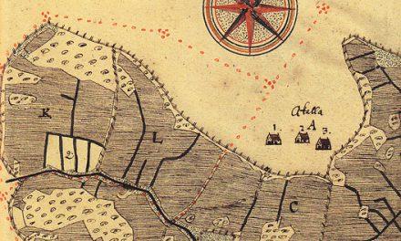 Spåren av digerdöden syns i 1600-talets lantmäterikartor