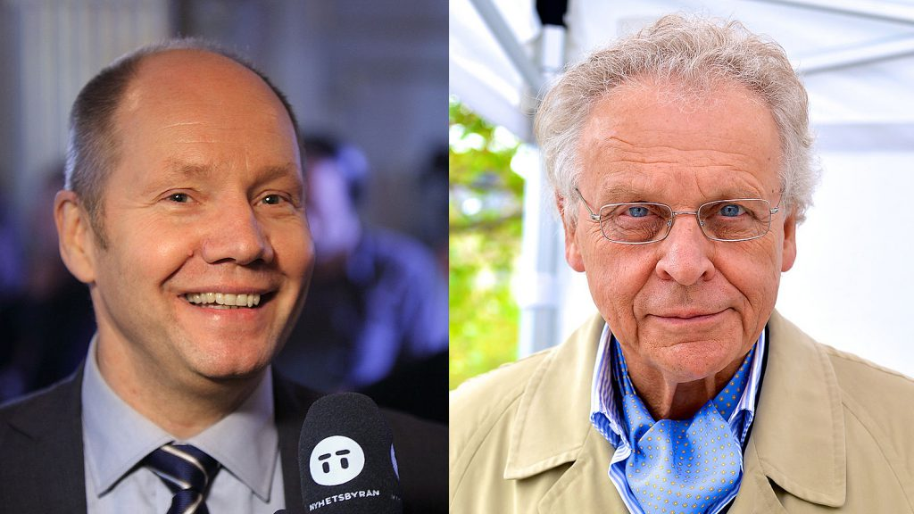Peter Englund och Herman Lindqvist. Foto: Spcenter och Frankie Fouganthin (Wikimedia Commons CC BY-SA 3.0)