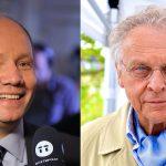Peter Englund och Herman Lindqvist i svensk historiekultur